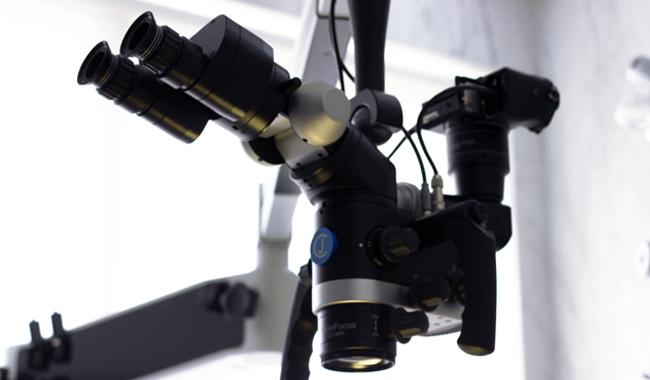 endodontics with microscope