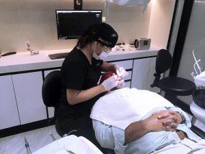 dental veneers process